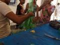 Atividade Reciclagem. escola do Projeto de Ação Comunitária de Sobradinho-BA. 25/11/2019.