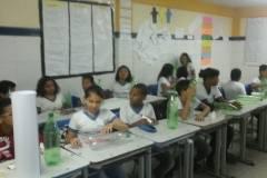 Reciclagens promovidas pelo PEV entusiasmam estudantes e professores