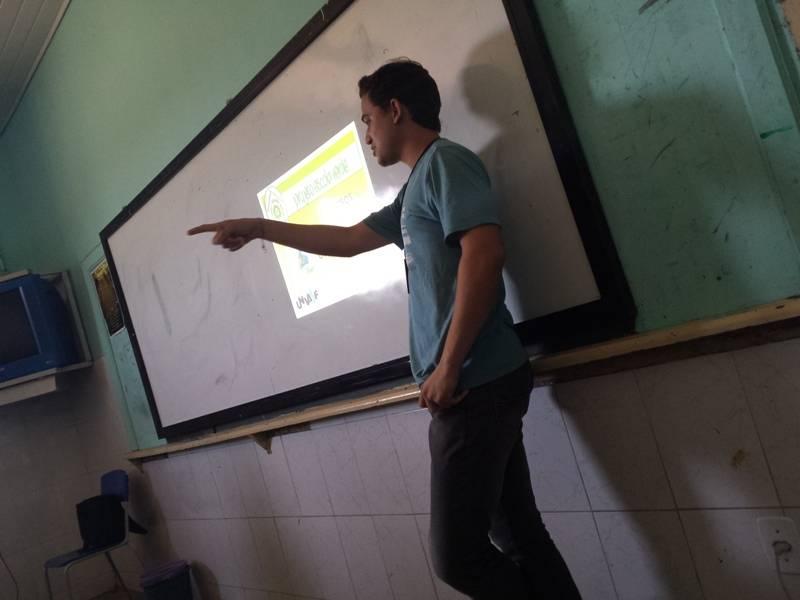 Atividade sobre recursos hídricos - Colégio Estadual Lomanto Júnior - Juazeiro-BA - 12.11.15