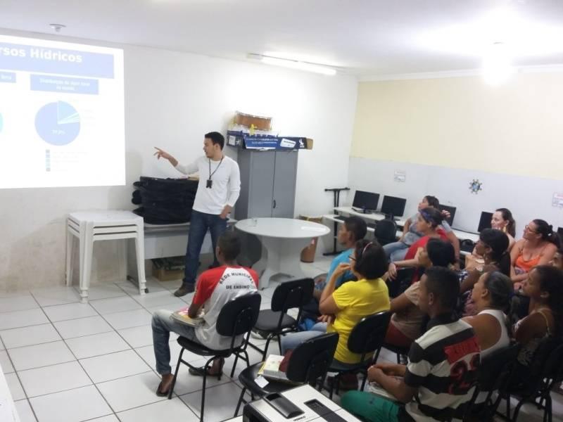 Atividade sobre recursos hídricos - Escola Joca de Souza - Juazeiro-BA - 19.11.15