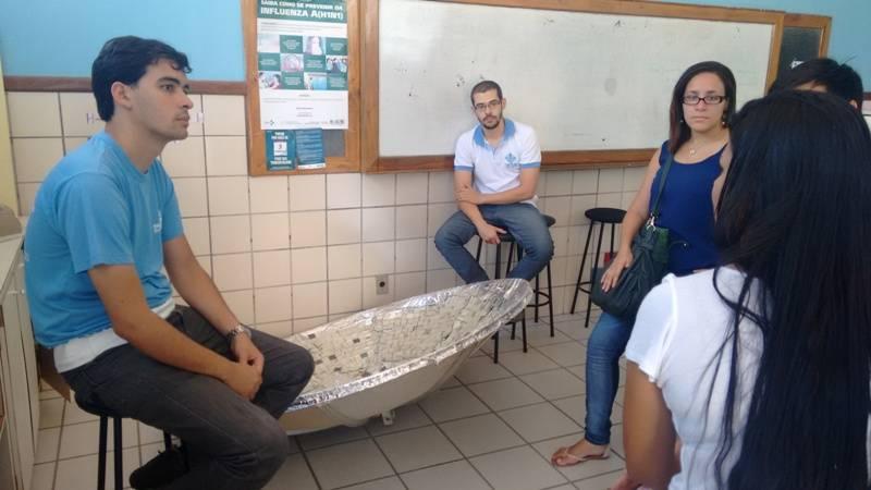 Reuniao para proposta de projeto com fontes renováveis - Colégio Estadual Rui Barbosa - Juazeiro-BA - 12.11.15