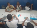 Atividade de Recursos Hídricos desenvolveu o tema de forma lúdica e divertida visando facilitar para o jovens a compreensão dos problemas abordados durante a ação. (Juazeiro, 6/03).
