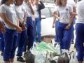 Atividades de Compostagem. Colégio da Polícia Militar (CPM). Juazeiro-BA. 21/09/2017.