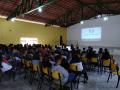 110 alunos participaram de atividade. Ação ocorreu nesta segunda (18.6).