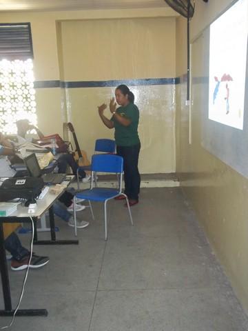 Atividade de Palestra - Escola Estadual Adelina Almeida - Petrolina-PE - 03.03.16