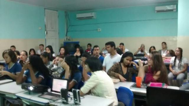 Atividade de Saúde e Agrotóxicos - Escola Lomanto Júnior - Juazeiro-BA - 10.03.16
