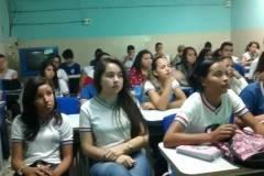 Saúde Ambiental é tema debatido pelo PEV em escolas da região