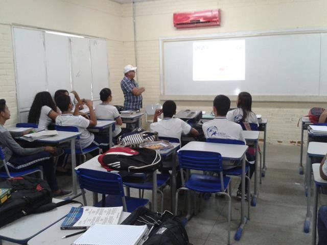 Saúde Ambiental. Escola Otacilio Nunes de Souza. Petrolina-PE. 23-05-2016