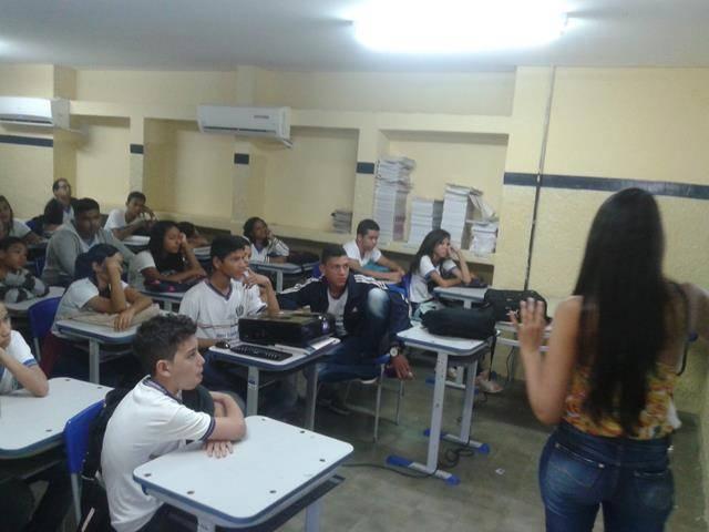 Saúde Ambiental. Escola Paes Barreto. Petrolina-PE. 11-05-2016