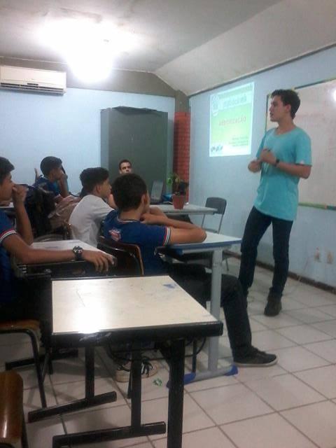 Saúde Ambiental. Escola Polivalente Américo Tanuri. Juazeiro-BA. 25-05-2016
