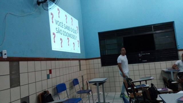 Saúde Ambiental. Escola Rui Barbosa. Juazeiro-BA. 24-05-2016
