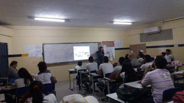Saúde Ambiental - Sexualidade, gravidez indesejada e DSTs. Escola Pe Luiz Cassiano. Petrolina-PE. 31-05-2016