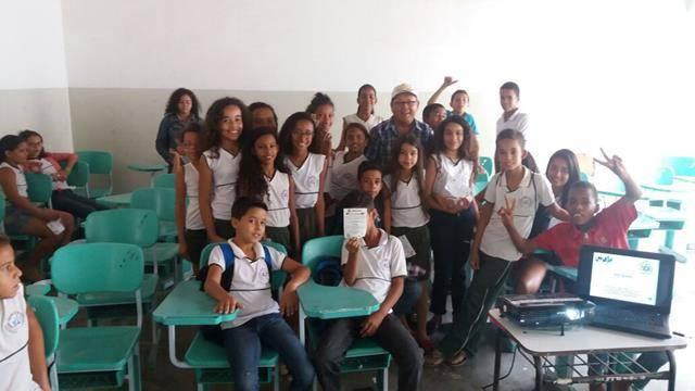 Saúde Ambiental - Cuidados com os Agrotóxicos. Escola 24 de Fevereiro. Sobradinho-BA. 17-06-2016