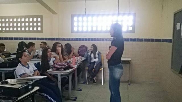 Saúde Ambiental - Sexualidade, gravidez indesejada e DSTs. Escola Jornalista João Ferreira Gomes. Petrolina-PE. 03-06-2016