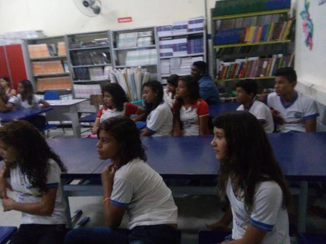 Saúde Ambiental. Sexualidade e Gravidez na adolescência. Escola Antonio Cassimiro. Petrolina-PE. 07-04-2016.