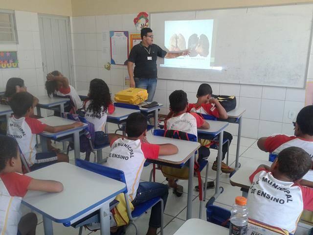 Atividades de Saúde Ambiental. Escola José Padilha de Sousa. Juazeiro-BA. 18-11-2016