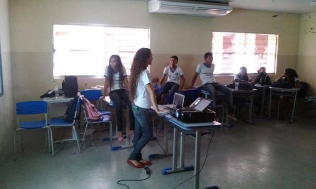 Atividades de Saúde Ambiental.Escola Marechal Antonio Alves Filho (EMAAF). Petrolina-PE. 24-11-2016