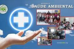 Saúde ambiental sensibiliza para cuidados e prevenção