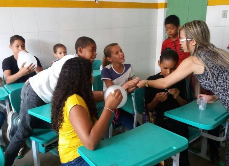 A importância da Coleta Seletiva. Escola Thomaz Guimarães. Senhor do Bonfim (BA). 08/05/2017.
