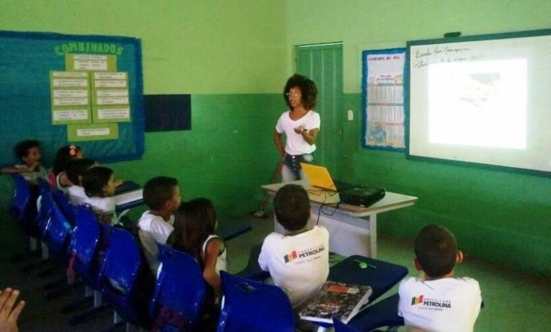 Valorização e preservação do animais da Caatinga. Escola Prof José Joaquim. Petrolina-PE. 18/05/2017.