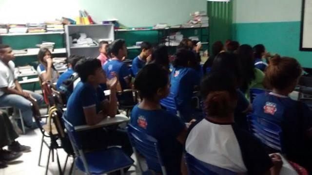 Saúde Ambiental - DSTs, Gravidez na Adolescência e Sexualidade. Escola Pedro Raimundo Rodrigues Rego. Juazeiro-BA. 18-07-2016