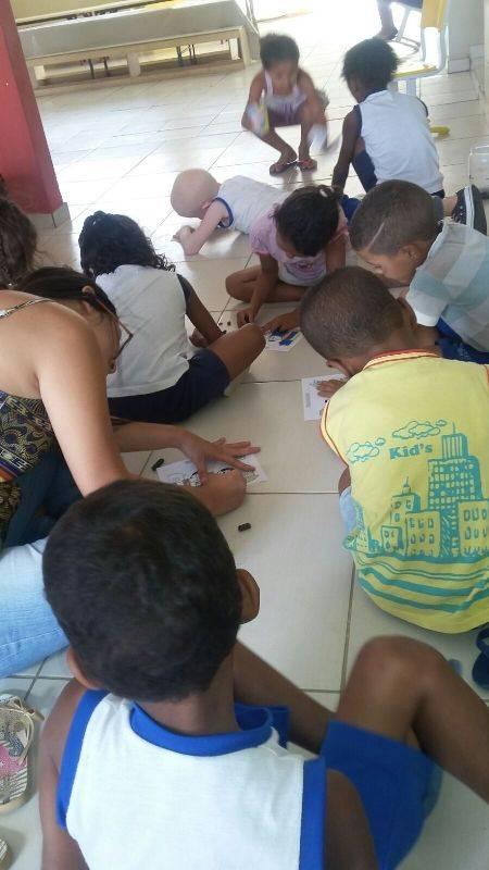 Teatro de fantoches - Escola Dilma Calmon - Petrolina-PE - 07.10.15