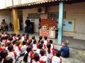 Atividade de arte ambiental - Escola Nossa Senhora das Grotas - Juazeiro-BA - 06.10.15