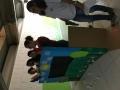 A peça ocorreu nos dias 4 e 5 de julho, no auditório da escola