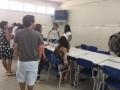Atividades de Arte Ambiental. Oficina de Reciclagem. Centro de Educação Profissional do Sertão do São Francisco (CETEP). Juazeiro-BA. 28-10-2016