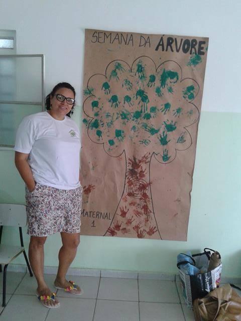 Arte Ambiental. Desenho, Pintura e Contação de Estória. Unidade de Acolhimento Marcelo Brito. Petrolina-PE. 23-09-2016