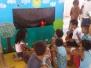 Teatro de fantoches sensibiliza crianças sobre meio ambiente