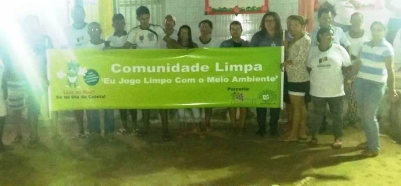 Atividades de Coleta Seletiva. Escola Luiz de Souza. Petrolina-PE. 14/06/2017.