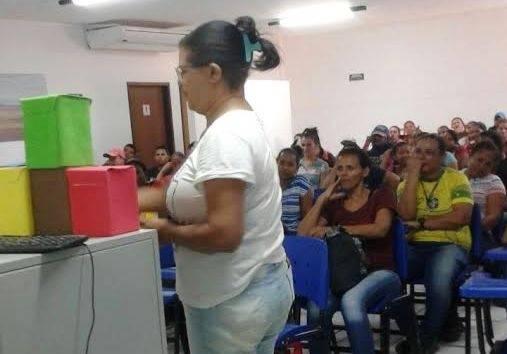 Atividades de Coleta Seletiva. Trabalhadores rurais da Fazenda Labrunier. Casa Nova (BA). 29/06/2017.