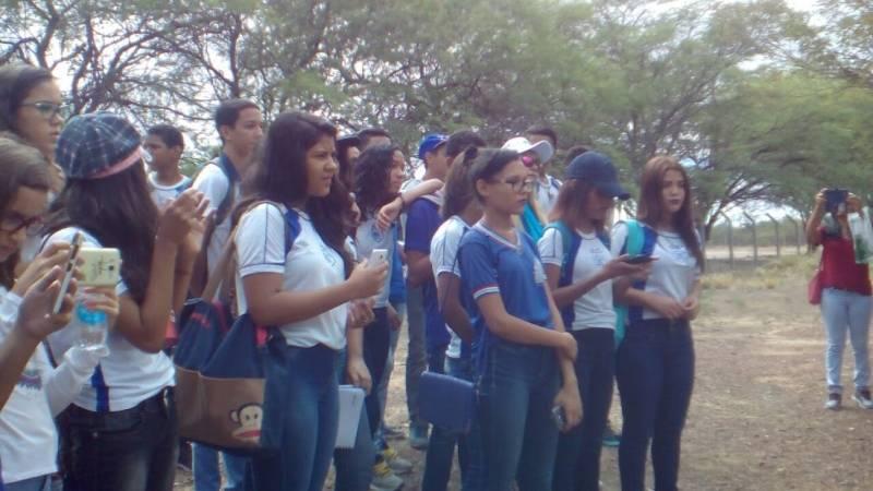 Visita Técnica à Embrapa/Semiárido. Escola Juthay Magalhães. Juazeiro-BA. 03/05/2017.