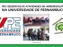 Universidade de Pernambuco desenvolver ações de arborização com o PEV