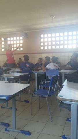 Atividades sobre recursos hídricos. Escola Artur Oliveira. Juazeiro-BA. 08-06-2016