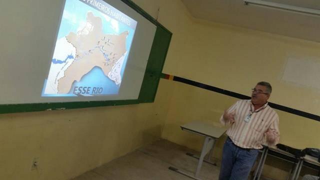 Atividades sobre recursos hídricos. Escola Humberto Soares. Petrolina-PE. 21-06-2016