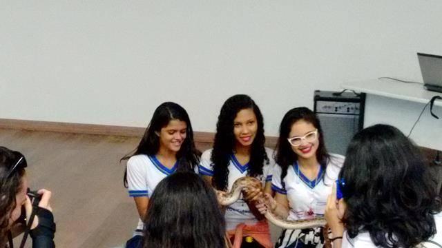 Visita técnica ao Cemafauna. Escola Dr Pacífico da Luz. Petrolina-PE. 06-04-2016.