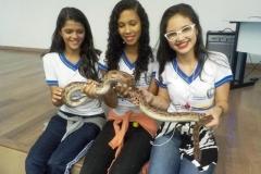 Visita técnica ao Cemafauna sensibiliza alunos e professores