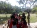 Atividade Visita Técnica ao Parque Zoobotânico. Escola Nossa Senhora das Grotas. Juazeiro-BA. 10/04/2019.
