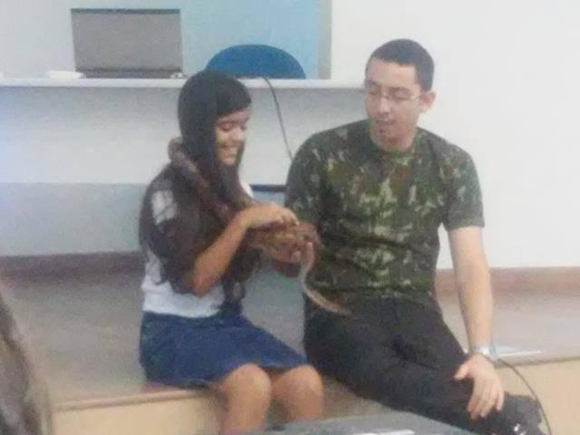 Visita Técnica ao CEMAFAUNA. Escola Antonio Cassimiro. Petrolina-PE. 26-04-2016