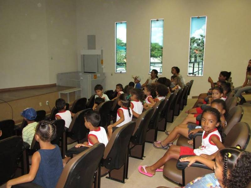 Visita Técnica ao Cemafauna. Escola Maria Hozana Nunes. Juazeiro-BA. 17/05/2017.