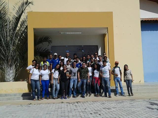 Visita Técnica ao Cemafauna. Centro Territorial de Educação Profissional (CETEP). Juazeiro-BA. 08-06-2016