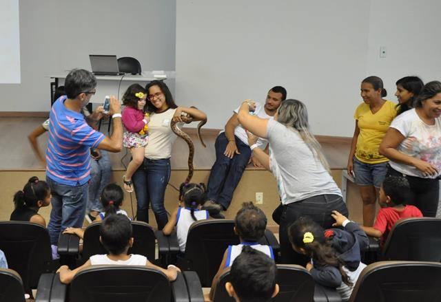 Visita Técnica ao Cemafauna. EMMEI Dilma Calmon. Juazeiro-BA. 16-06-2016