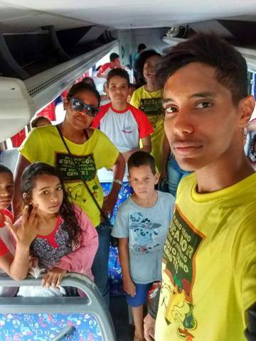 Visita Técnica ao Cemafauna. Escola Luiz Cursino. Juazeiro-BA. 14-06-2016