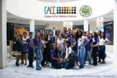 Visitas Técnicas ao EACC possibilitam conhecimentos práticos