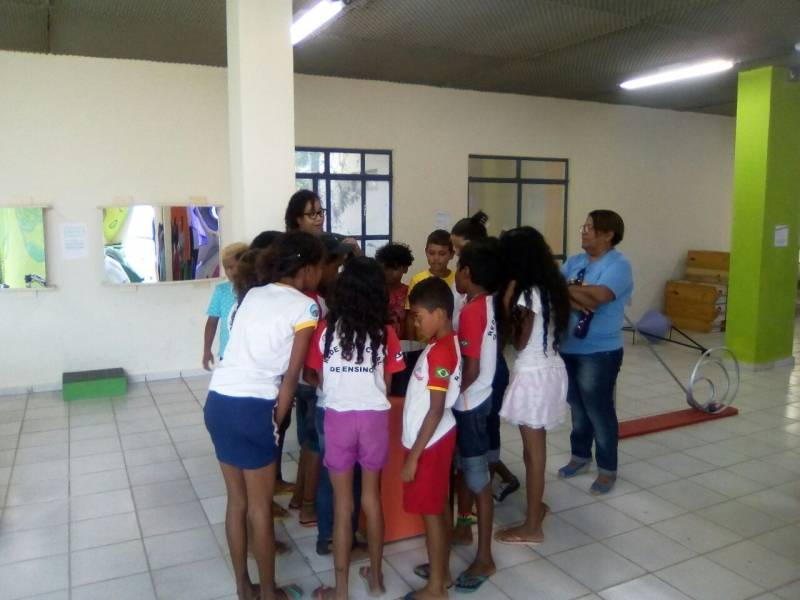 Visita Técnica ao EACC/Univasf. Escola Luis Cursino de França Cardoso. Juazeiro-BA. 19/04/2017.