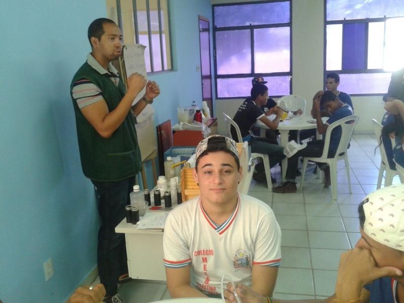 Visita Técnica ao EACC/Univasf. Escola Helena Celestino Magalhães. Juazeiro-BA. 07/04/2017.