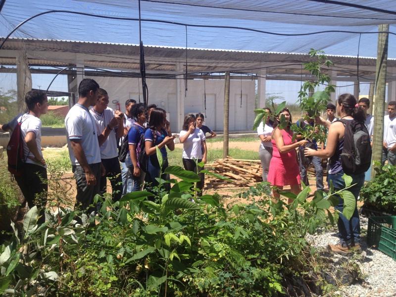 Visita técnica ao CCA (Univasf) - Colégio Estadual Lomanto Júnior - Juazeiro-BA - 29.10.15