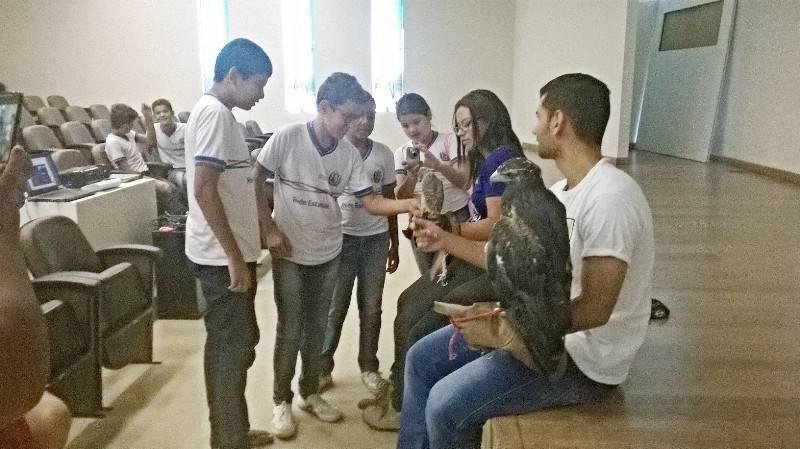 Visita técnica ao CEMAFAUNA (Univasf) - Escola Professor Simão Amorim Durando - Petrolina-PE - 27.10.15